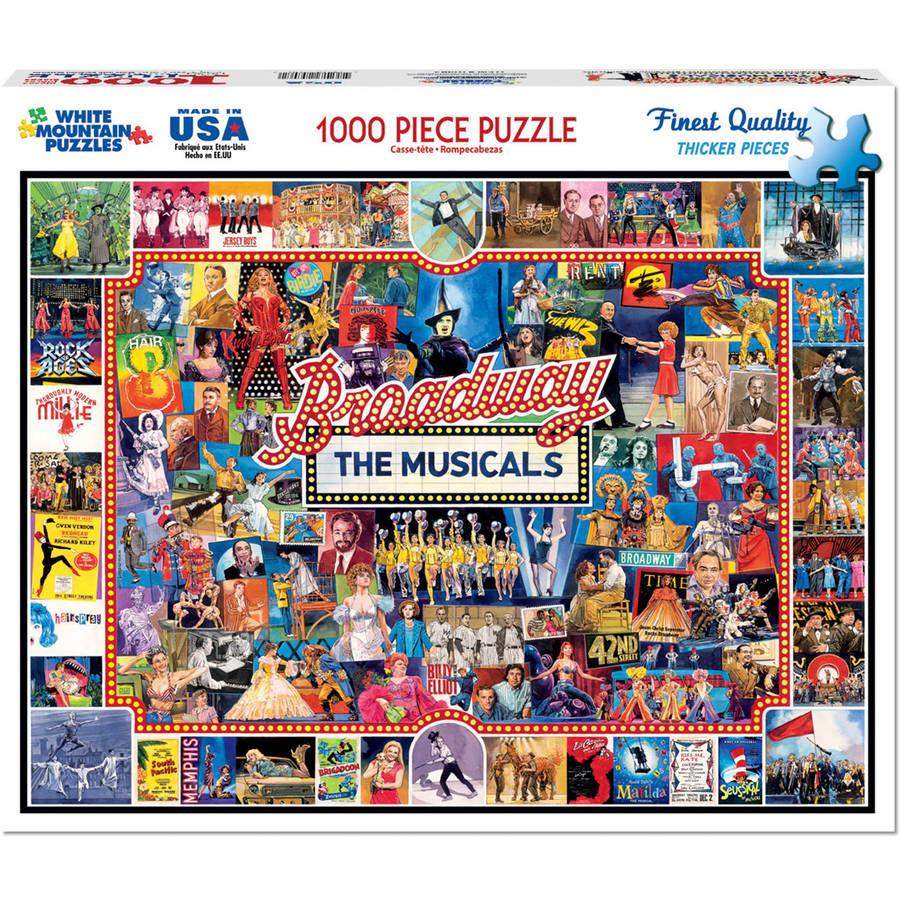 """Jigsaw Puzzle, 550 Pieces, 18"""" x 24"""", Popcorn"""