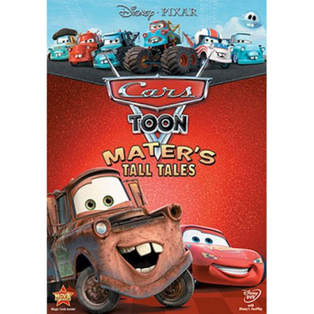 Cars Toon: Mater's Tall Tales (DVD) (Tv Shows About Cars On Cable Tv)
