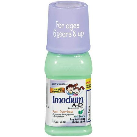 AD liquide anti-diarrhéiques menthe Saveur 4 oz (Pack de 6)