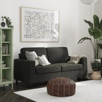Deals on DHP Cooper Sofa Black Velvet