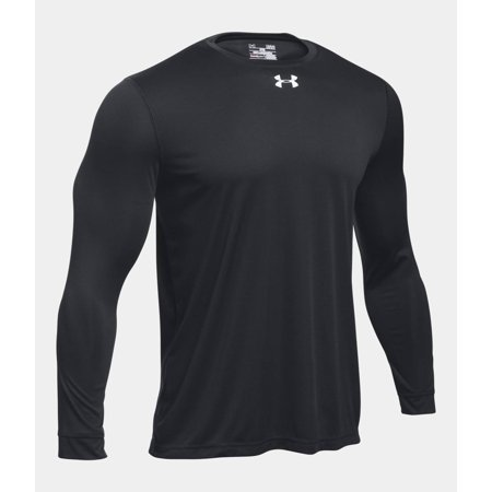 Under Armour Men's UA 2.0 Long Sleeve Locker Tee 1305776-001 Black