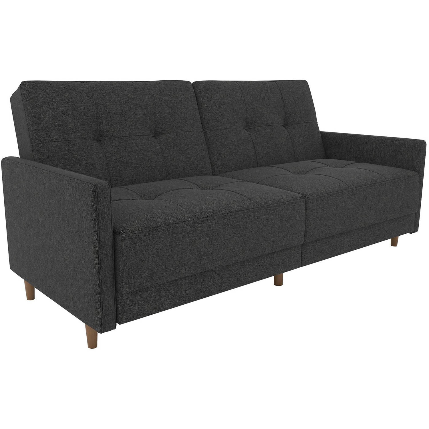 Product Image DHP Andora Coil Convertible Futon Couch, Multiple Colors