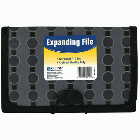 13-Pocket Coupon Expanding File - Toys On Fire Coupon Code