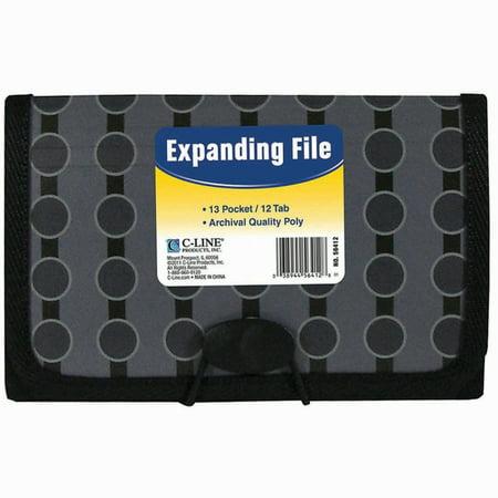 13-Pocket Coupon Expanding File - Calendar.com Coupon