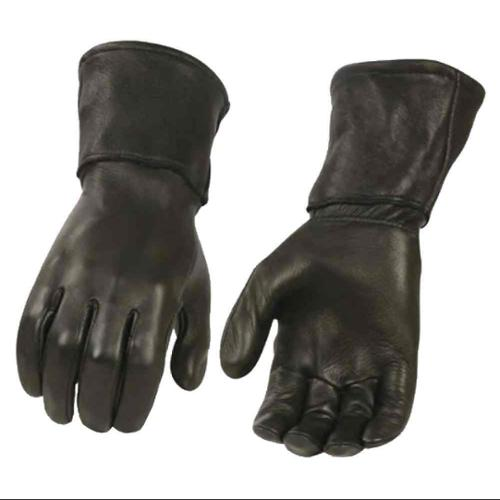 Milwaukee Leather Men's Deerskin Leather Thermal Gauntlet Gloves G317 (XL) - X-Large G317-XL