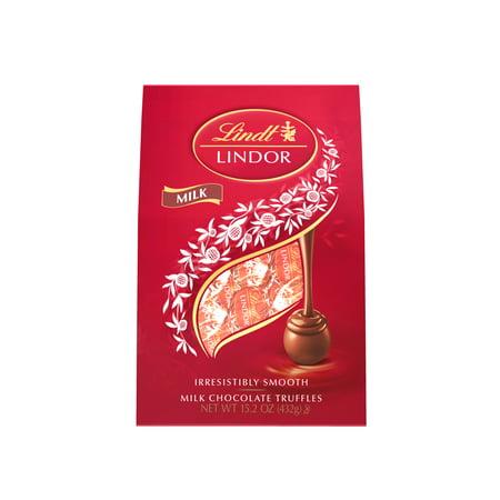 Lindt Lindor Milk Chocolate Truffles, 15.2 Oz. (Lindor Truffles Milk)