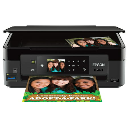 Epson Expression Home XP-446 Small-in-One Printer (Best Small Office Color Laser Printer Scanner)