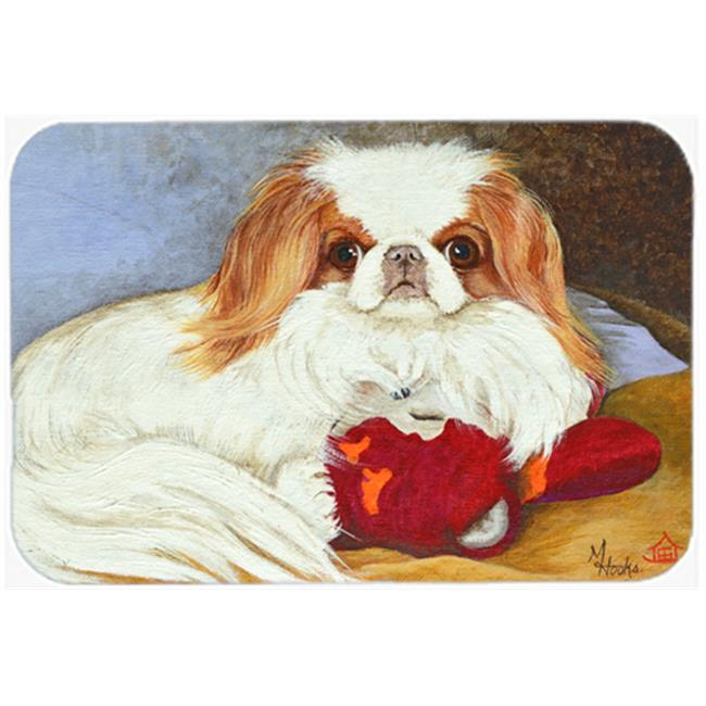 Carolines Treasures MH1049JCMT Japanese Chin Pink Gorilla Kitchen & Bath Mat, 24 x 36 in. - image 1 of 1