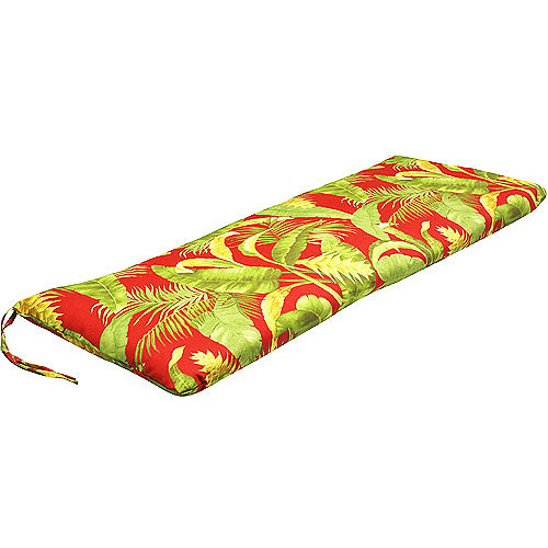 Jordan Manufacturing Outdoor Swing/Glider/Bench Cushion, Multiple Patterns