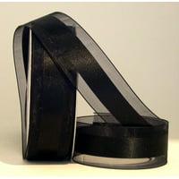 Ribbon Bazaar Satinesque 5/8 inch Black 25 yards Ribbon