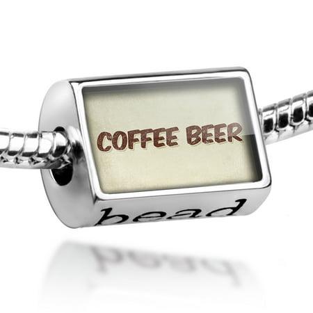 Bead Coffee Beer, Vintage style Charm Fits All European Bracelets