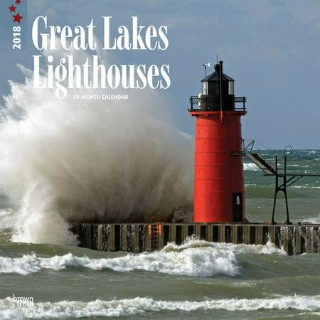 Great Lakes Lighthouses 2018 Calendar