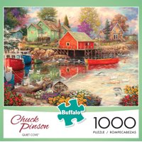 Buffalo Games - Chuck Pinson - Quiet Cove - 1000 Piece Jigsaw Puzzle