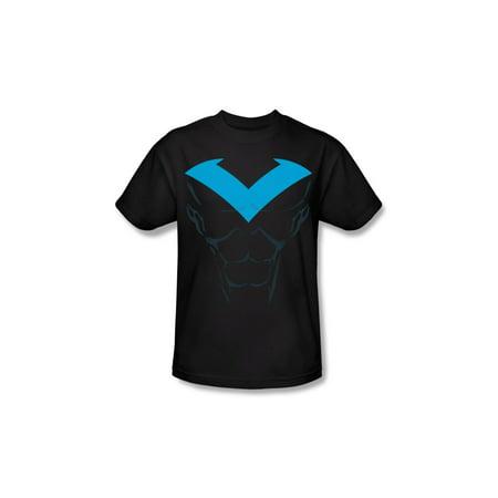 Batman DC Comics Nightwing Costume Adult Superhero T-Shirt Tee - Nightwing Costume