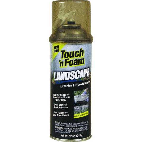 Touch 'n Foam Landscape Repair Filler-Adhesive Foam Sealant