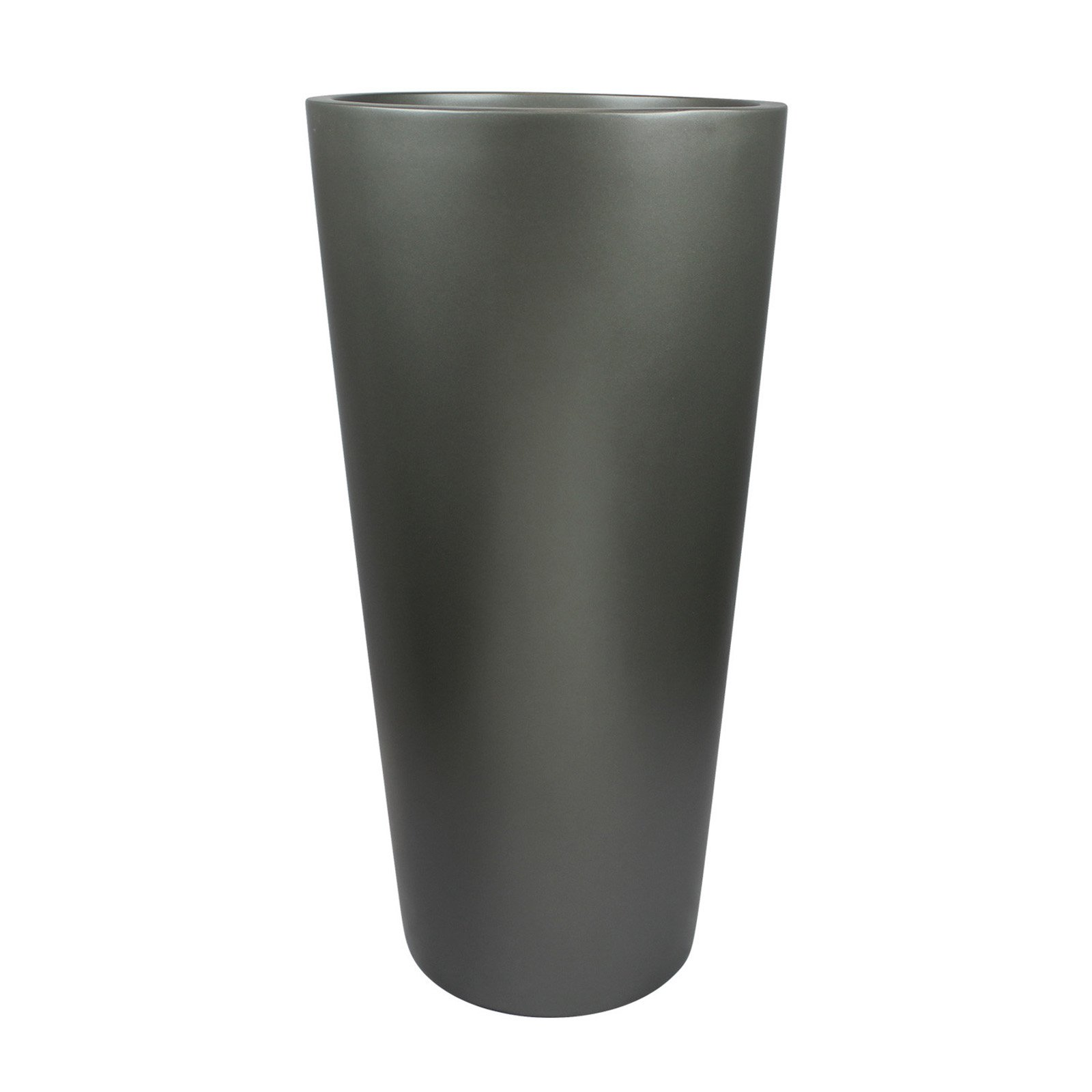 Root and Stock Sonoma Tall Cylinder Fiberglass Planter by