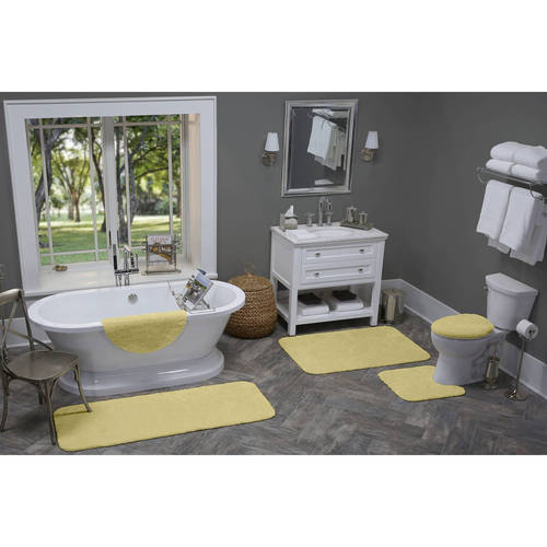 Better Homes and Gardens Extra Soft Bath Rug Collection by Maples Industries