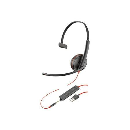 Plantronics BlackWire C3215 USB-A Headset