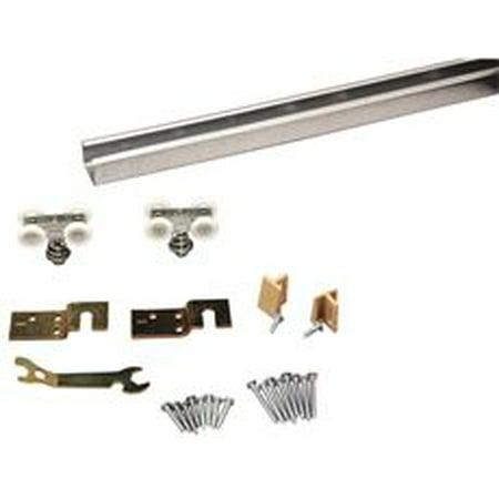 - Fast Mount Pocket Door Frame Kit, For One 36 In. Door, 75 Lb. Capacity, 1-1/8 In. -1-3/4 In. Thickness, 72 In.