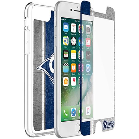 Los Angeles Rams OtterBox iPhone 8/7/6/6s Symmetry Case with Alpha Glass Screen Protector - No Size