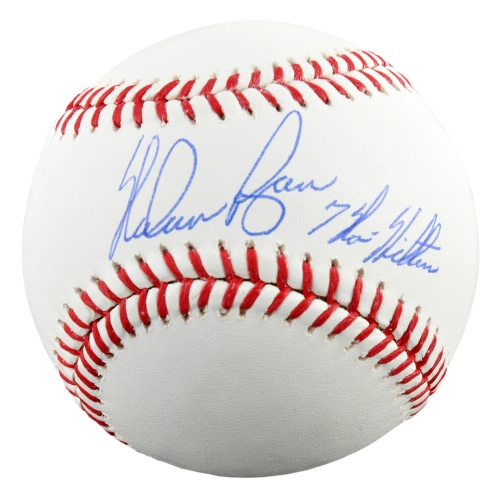 Nolan Ryan Autographed Baseball with 7 No-Hitters Inscription - Fanatics Authentic Certified