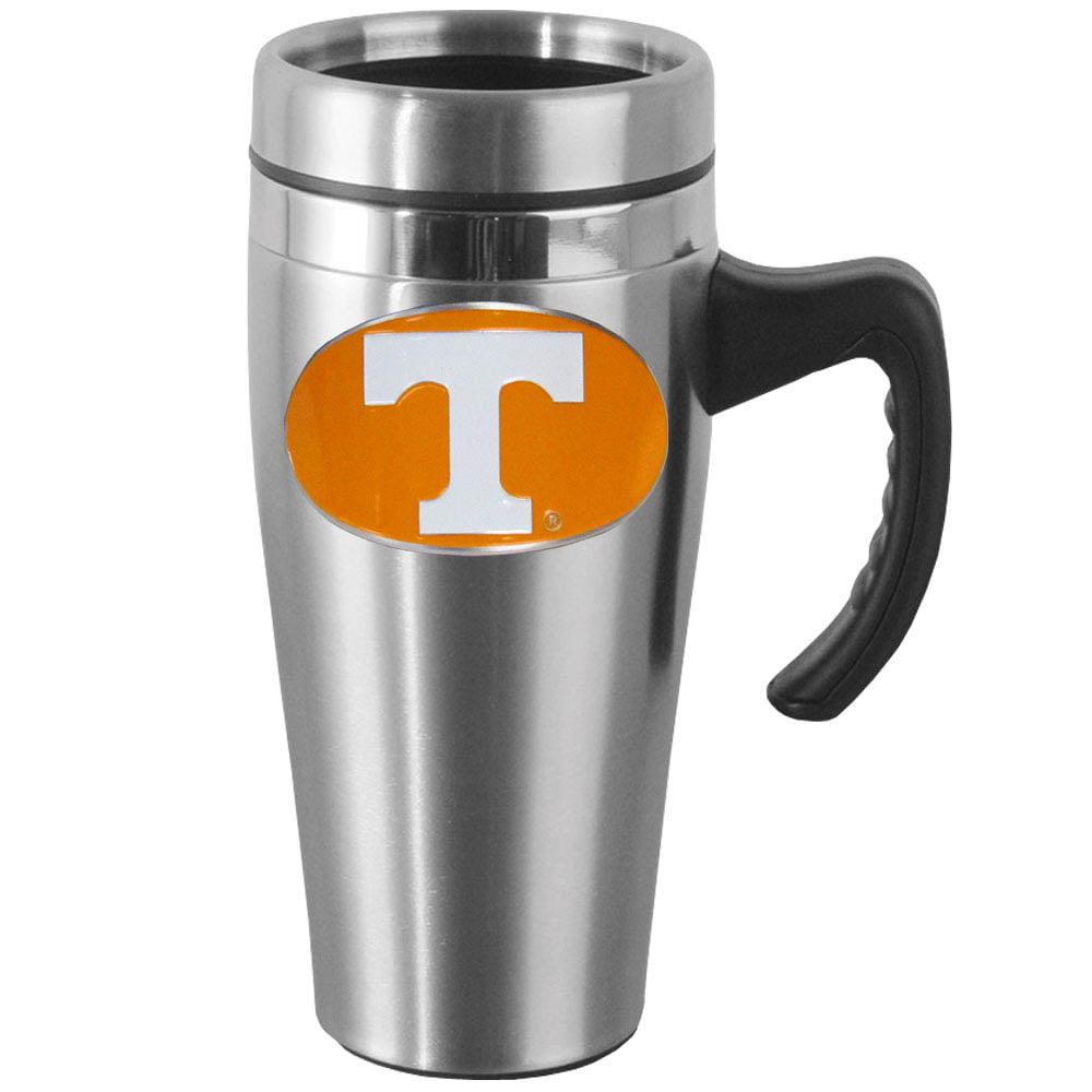 Tennessee Steel Travel Mug w/Handle