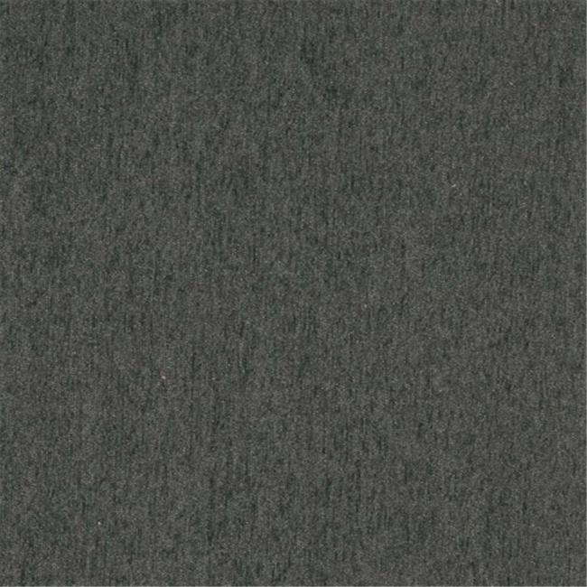 Designer Fabrics A838 54 in. Wide Charcoal Grey, Solid Chenille Upholstery Fabric