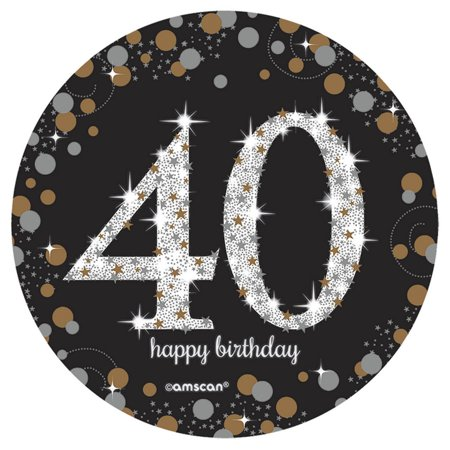 - Sparkling Celebration 40th Birthday Spray Centerpiece (1)