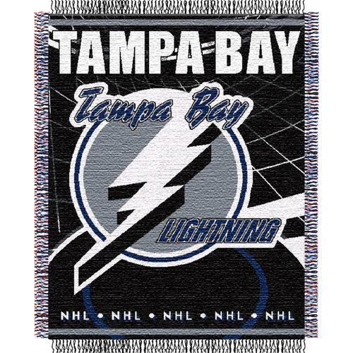 NHL - Tampa Bay Lightning Game-Time Woven Jacquard Throw