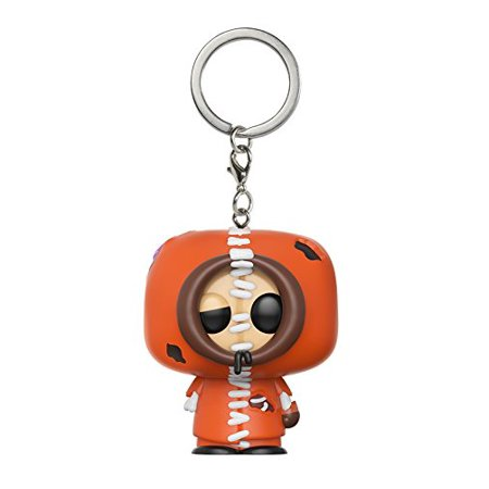 Pop Keychain: South Park - Zombie Kenny Toy Figure, From South park, zombie kenny, as a stylized pocket pop Keychain from Funko! By FunKo
