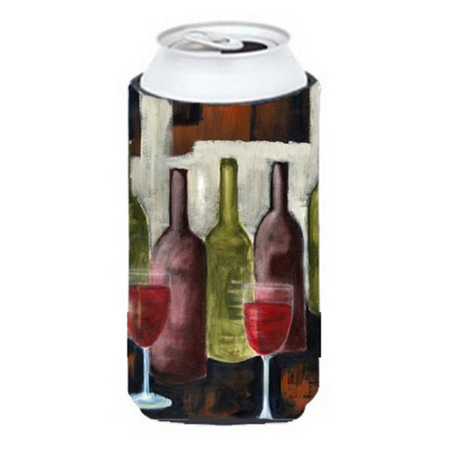 Red Wine by Petrina Sutton Tall Boy Can cooler Hugger