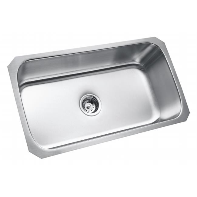 Sterling Sinks 11600-NA 32 in. X 18 in. X 9 in. Stainless Steel Sink