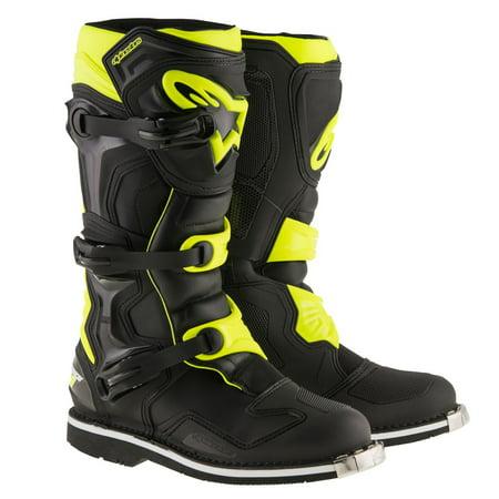 Alpinestars Tech 1 Mens MX Offroad Boots Black/Yellow