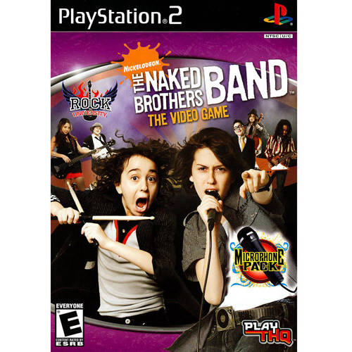 Rock University Presents: Naked Brothers (PS2) - Pre-Owned