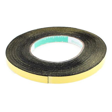 10 Meters 10mm x 1mm Single Side Adhesive EVA Foam Sealing