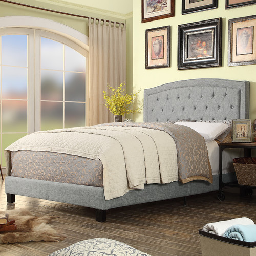 ALTON FURNITURE GROUP Moser Bay Twin Size Tufted Upholstered Bed Set