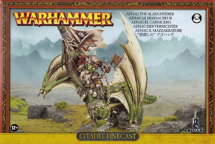 Warhammer 40,000 Orks Azhag the Slaughterer Miniatures by