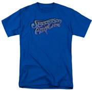 Jefferson Airplane Gradient Logo Mens Short Sleeve Shirt