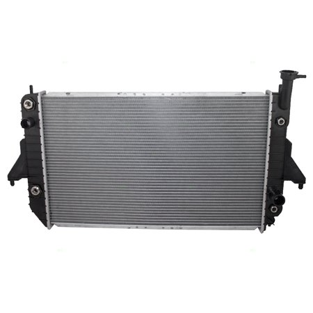 Motorhome Van Radiator (BROCK Radiator Assembly Replacement for 96-05 Chevrolet Astro GMC Safari Van 15180873)