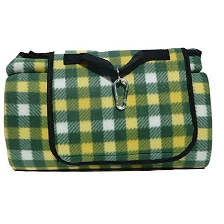 Multipurpose Waterproof Backing Plaid Picnic Blanket Is The Perfect Mat Beach