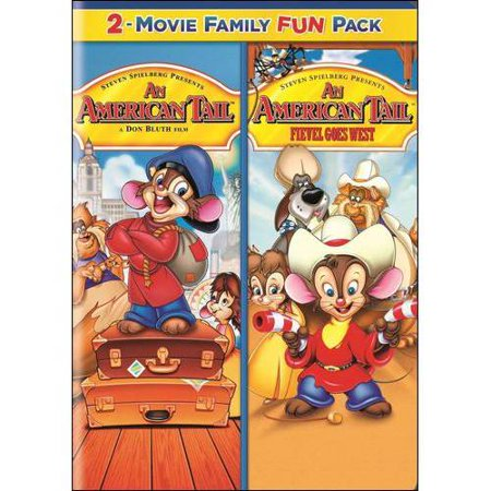 An American Tail 2 Movie Family Fun Pack  An American Tail   Fievel Goes West  Full Frame
