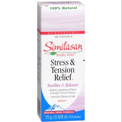 Similasan Stress & Tension Relief Globules 154 Each (Pack of 3)