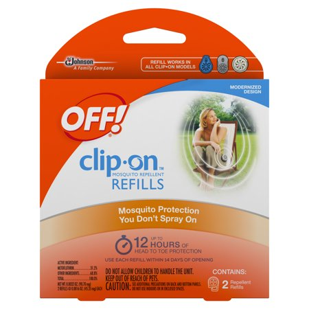 Off  Clip On Mosquito Repellent Refill  2 Count  0 0032 Ounces