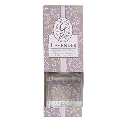 Greenleaf Signature Reed Diffuser Lavender, The calming essence of lavender, relaxing and pure. By Greenleaf Gifts