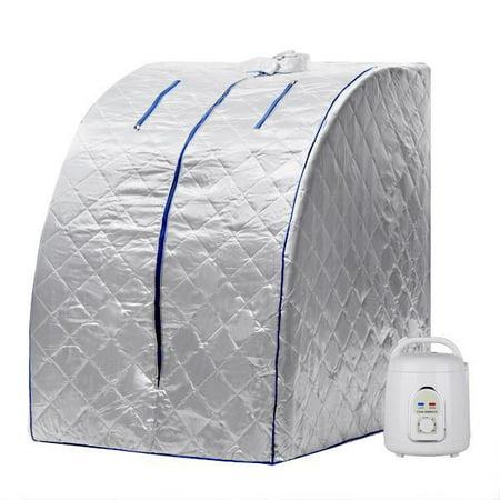 Hot  850W Therapeutic Steam Sauna Spa Head Cover Full Body Detox Weight Loss Health Care Steam Pot Wsy