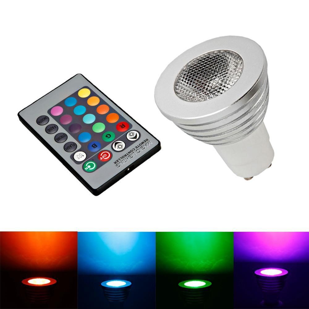 Ktaxon Durable GU10 5W Colorful RGB LED Bulb Light Lamp Spotlight with Remote Control,Great for Birthday Party / KTV Decoration / Home Use / Bar / Wedding