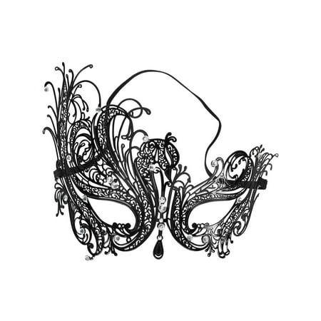 Sexy Lace Hollow Masquerade Mask for Women Girls Elegant Masquerade Party Mask (Womens Mask)