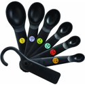 OXO Good Grips 7-Piece Plastic Measuring Spoons