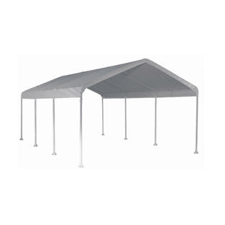 Super MAX 12 X 20 Ft. Eight-leg Frame Canopy with White Cover