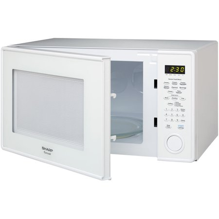 Sharp R459yw Carousel Countertop Microwave Oven 1 3 Cu Ft 1000w White